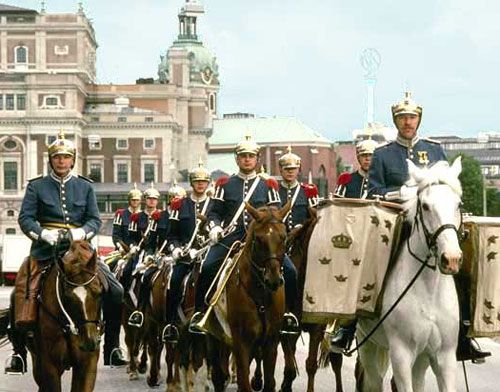 Stockholm Royal Horse Guard